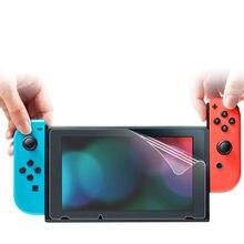 Envío Gratis CARPRIE 1 paquete suave Hd claro pantalla de Tpu Flim protectores para Nintendo interruptor de Protección de pantalla cayendo nave