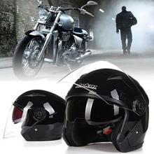 Helmet Motorcycle Open Face Capacete Motocicleta Cascos Para Moto Racing Vintage Helmets