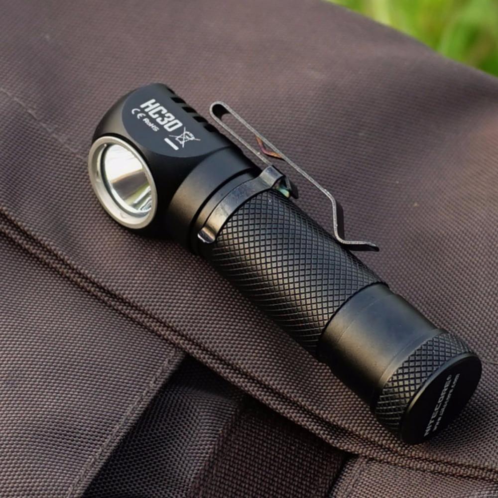 NITECORE HC30 HC30W Scheinwerfer CREE XM-L2 U2 1000 Lumen Wasserdichte Taschenlampe mit 18650 Akku Kostenloser Versand