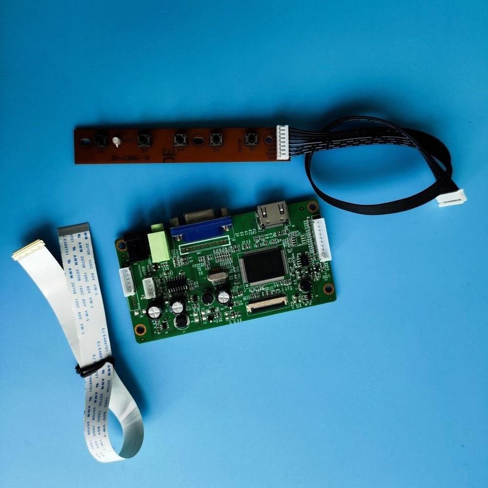 Zestaw DIY LED EDP HDMI Monitor dla B156XTN04 1366X768 płyta kontrolera 30Pin sterownik wyświetlacz VGA ekran LCD 15.6