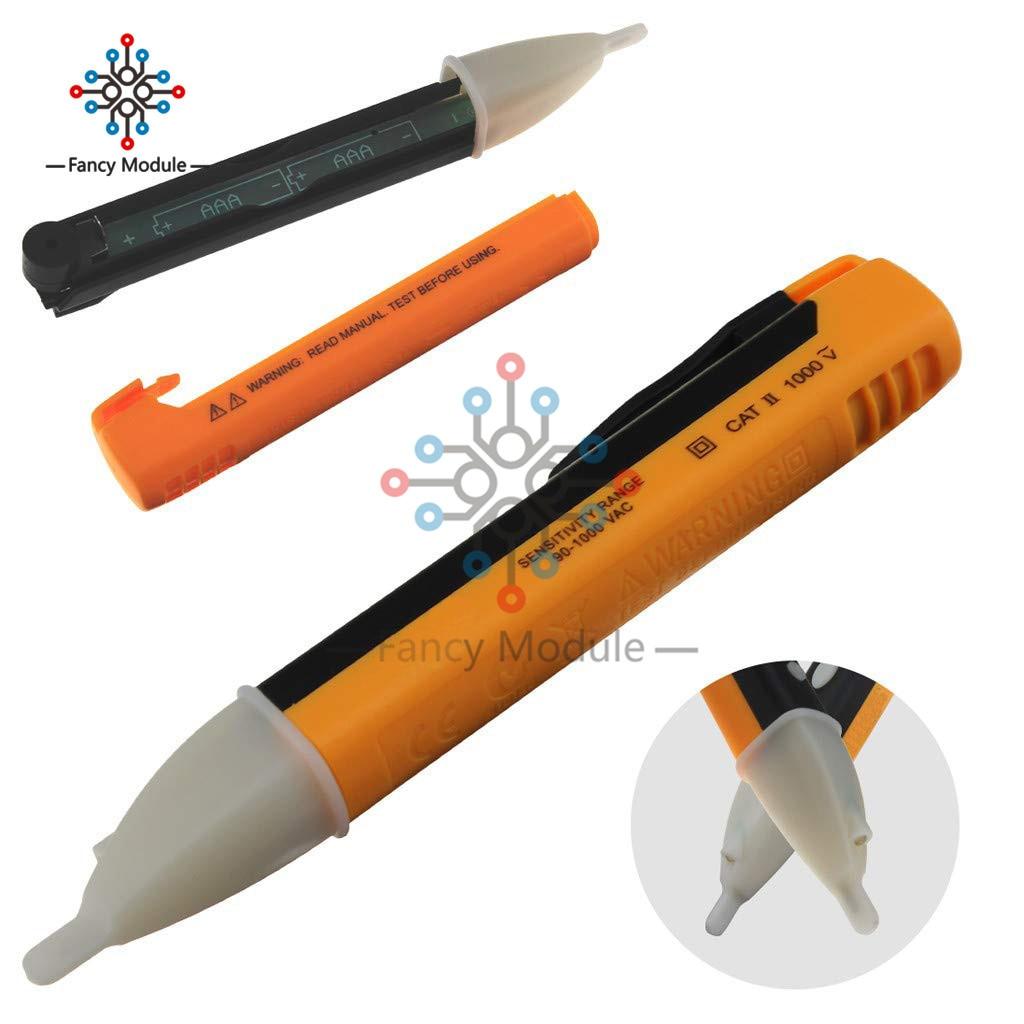 H31511fecee4e4b88a6b7138e7b58d1fc7 Non-contact induction test pencil AC110V 220V Voltmeter Voltage Probe Volt Meter Electric Indicator Power Detector Tester Socket
