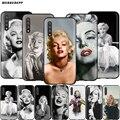 Webbedepp Мэрилин Монро Чехол для Samsung Galaxy S7 S8 S9 S10 Plus Edge Note 10 8 9 A10 A20 A30 A40 A50 A60 A70