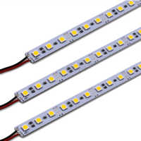 12V Led  Bar Light 36Leds/50CM SMD 5050 Led Hard Rigid Pixels Strip Alluminium Alloy Coat Lightbar 10pcs/lot