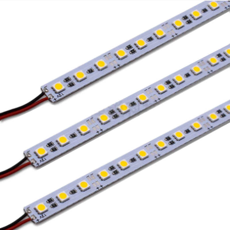 12V Led Bar Light 36Leds/50CM SMD 5050 Led Hard Rigid Pixels Strip Alluminium Alloy Coat Lightbar 10pcs/lot