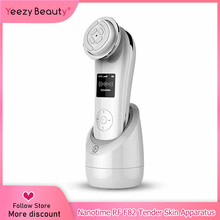 Professional Smart Tender Skin Apparatus RF EMI importing Facial Massager Deep Cleansing Lifting Face Wrinkle Removal V Face F82