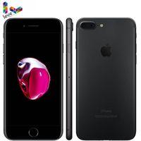 Original ios apple iphone 7 plus 7 p 4g lte 3 gb ram 32 gb/128 gb/256 gb rom 12.0mp quad-core impressão digital desbloqueado telefone móvel