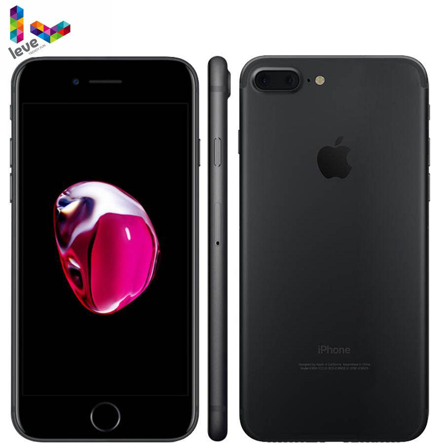 Originale Apple iPhone 7 Plus 7 P 4G LTE 3GB di RAM 32 GB/128 GB/256 GB ROM IOS 12.0MP Quad-Core di Impronte Digitali Sbloccato Il telefono Mobile