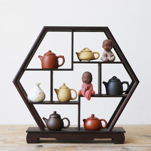 Мини-горшок из фиолетового песка, Исин, кончик пальца, маленький карманный чайный игровой набор, аксессуары для чая, украшение для домашних животных, бутик, интересный подарок