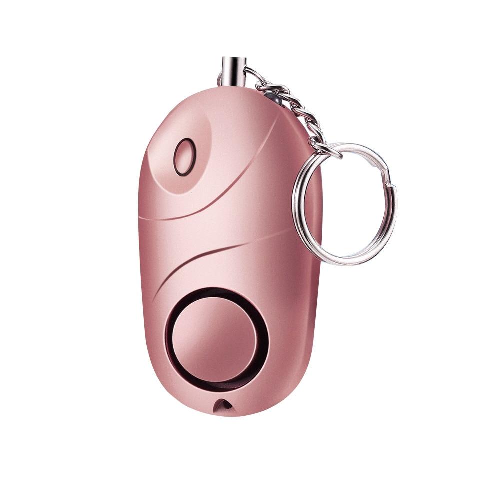 Self Defense Alarm 130dB Girl Women Security Protect Alert Personal Safety Scream Loud Keychain Emergency Alarm