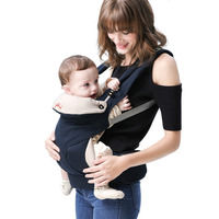 Soboba Infant Baby Hipseat Cotton Ergonomic Baby Backpacks Carrier Sling Wrap Holder Hipseat Waist Belt Backpack Gear 0 36M