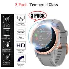 3Pcs/lot watch HD film For Garmin Fenix 5 5s Plus 6S 6X 6 Pro Ultra Clear Tempered Glass film Guard Premium Screen Protector