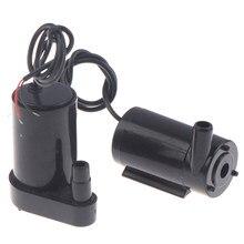 Pompe à moteur sans brosse à faible bruit 3L/min Micro pompe à eau Submersible DC 5-12V