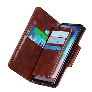 Image 5 - 6 Card Slots Wallet Flip Leather Case for iPhone 11 Pro Max Xs Max Xr X 8 7 Plus Stand Magnetic Closure ID & Credit Cards Pocket