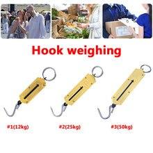 50 кг ручные Пружинные механические весы для путешествий подвесные весы для багажа прочный портативный чемодан для дома и кухни