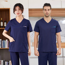 Hand-washing clothes men and women separate clothes beauty salon dental work clothes