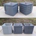 Форма для цементного горшка  силиконовая форма  бетонный горшок для овощей формочка в виде растения  на заказ  форма для цветочного горшка  ф...