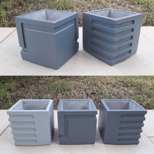 Cement pot mold mold silicone m