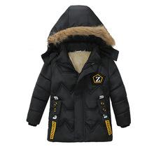 Chłopcy kurtka zimowe kurtki dla chłopców płaszcz dzieci ciepłe kurtki płaszcze dla kurtka dla dzieci bawełna zagęścić chłopców ubrania 2 3 4 5 lat tanie tanio RACCOON RAIDERS Na co dzień 0 7KG COTTON Poliester REGULAR Boy s jacket W dół i parki Pasuje prawda na wymiar weź swój normalny rozmiar