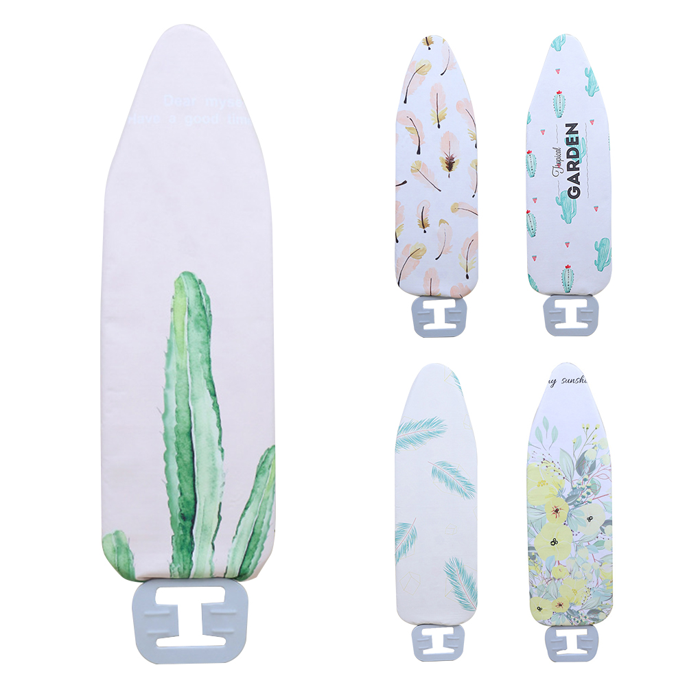 Lightweight Reusable Digital Printed Household Replace Flat Washable Durable Non-Slip Heat Resistant Thick Ironing Board Cover