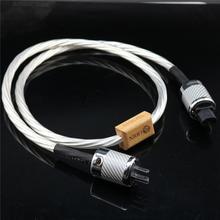 Hallo end HIFI power schnur UNS EU IEC 3 pins 2 pins Figur IEC nordost odin power kabel mit stecker