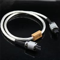 Hi end HIFI power cord US EU IEC 3 pins 2 pins Figure IEC nordost odin power cable with plug