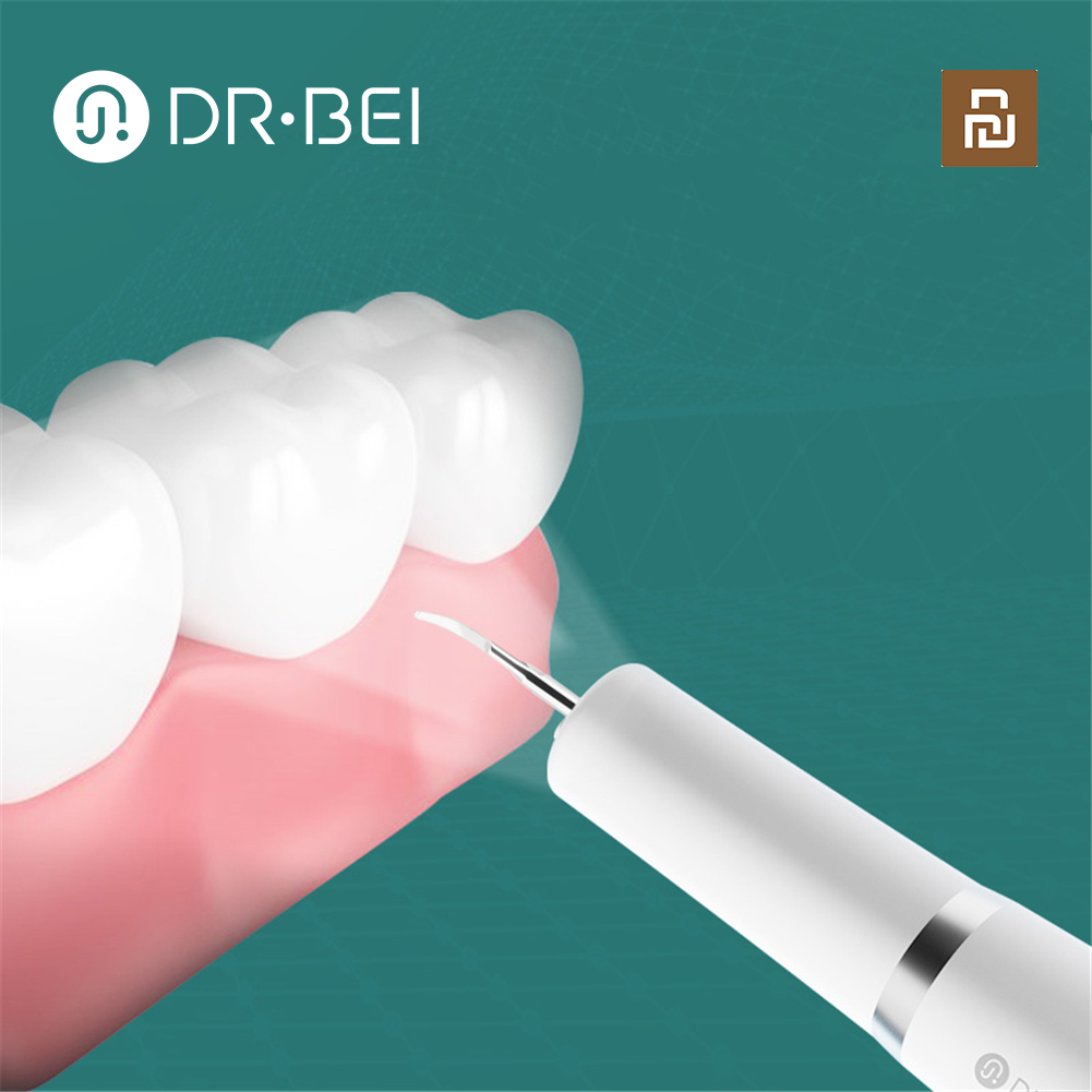 DR·BEI Home Ultrasonic Calculus Remover Dental Scaling Electric Portable Scaler Smoke Stains Tartar Plaque Teeth White Youpin