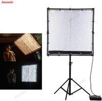 Falcon Eyes RX-120TDX 120cm 600W ROLL-Flex LED Light 3000 K-5600 K Bi-Kleur LED Photo Light met Honingraat Softbox CD50 T03 NV1