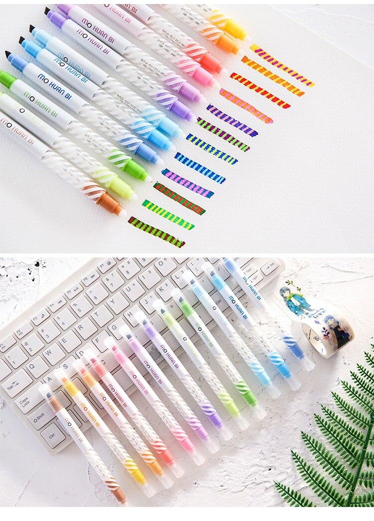 pen 12 marcador desenho Liner canetas Arte