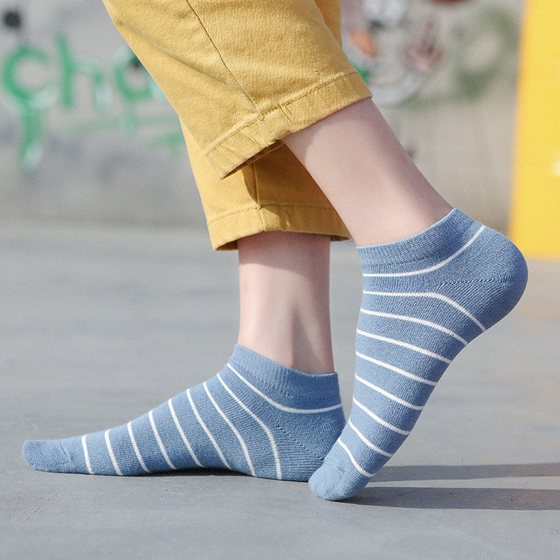 Korean Style Classics Stripe Kawaii Socks Women For Spring Summer Casual Calcetines Mujer Fashion High Quality Woman Socks 30505