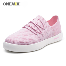 ONEMIX New Arrival Classics Style Women Walking Shoes Breathable Lightweight Slip On Lazy Shoes Men Walking Jogging Sneakers original new arrival nike zoom speed tr3 men s walking shoes training shoes sneakers
