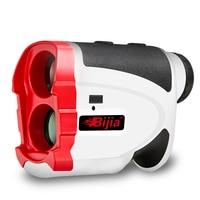 BIJIA-telémetro de golf, Medidor láser de distancia, telescopio, bloqueo de bandera, corrección de pendiente, telémetro portátil G600, 600m