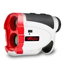 Bijia golf rangefinder 600m medidor de distância a laser telescópio bandeira bloqueio inclinação correção portátil range finder g600