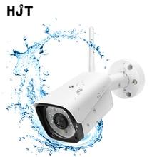 Kablosuz IP kamera 1080P WIFI açık güvenlik kamerası ağ P2P hareket algılama TF kart yuvası IR gece su geçirmez ONVIF H.264