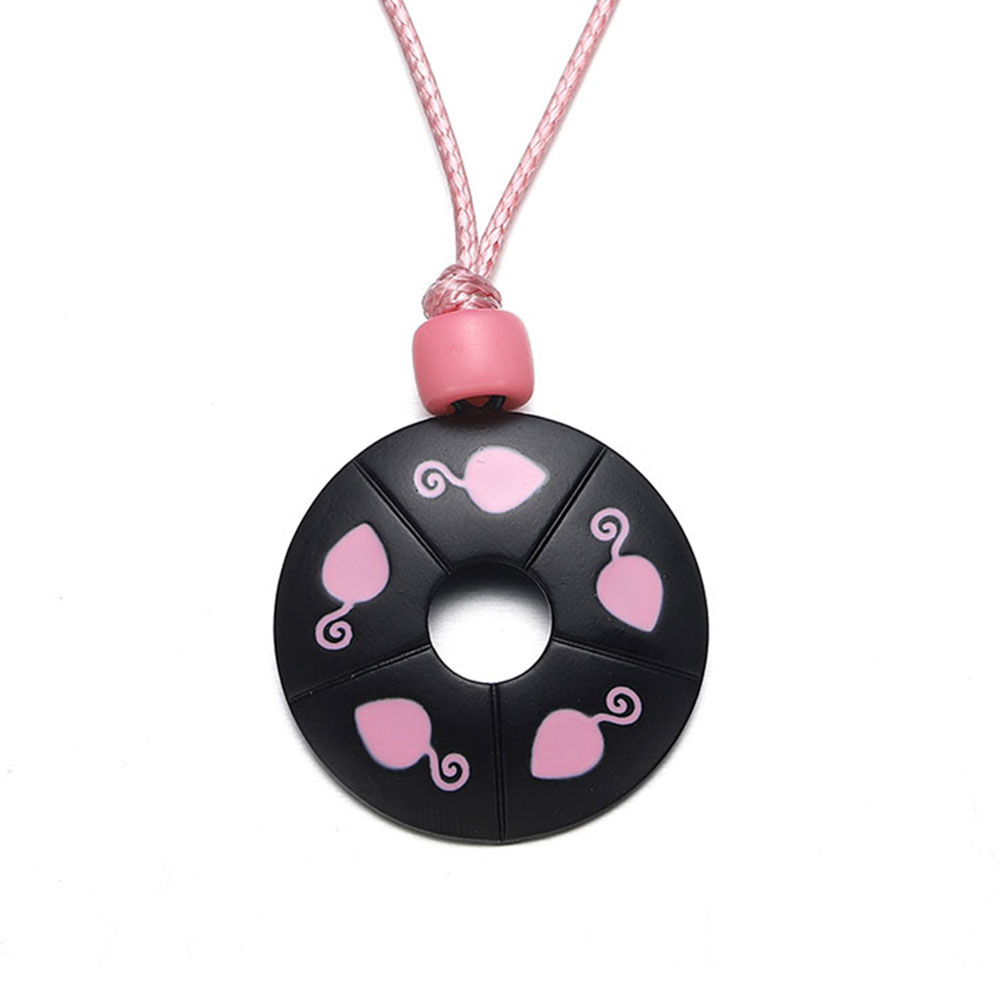 Miracle Ladybug Mouse Necklace Choker Lady Bug Chat Noir Cosplay Costume Kids Jewelry Pink Pendant for Girls Woman Fandom Gift