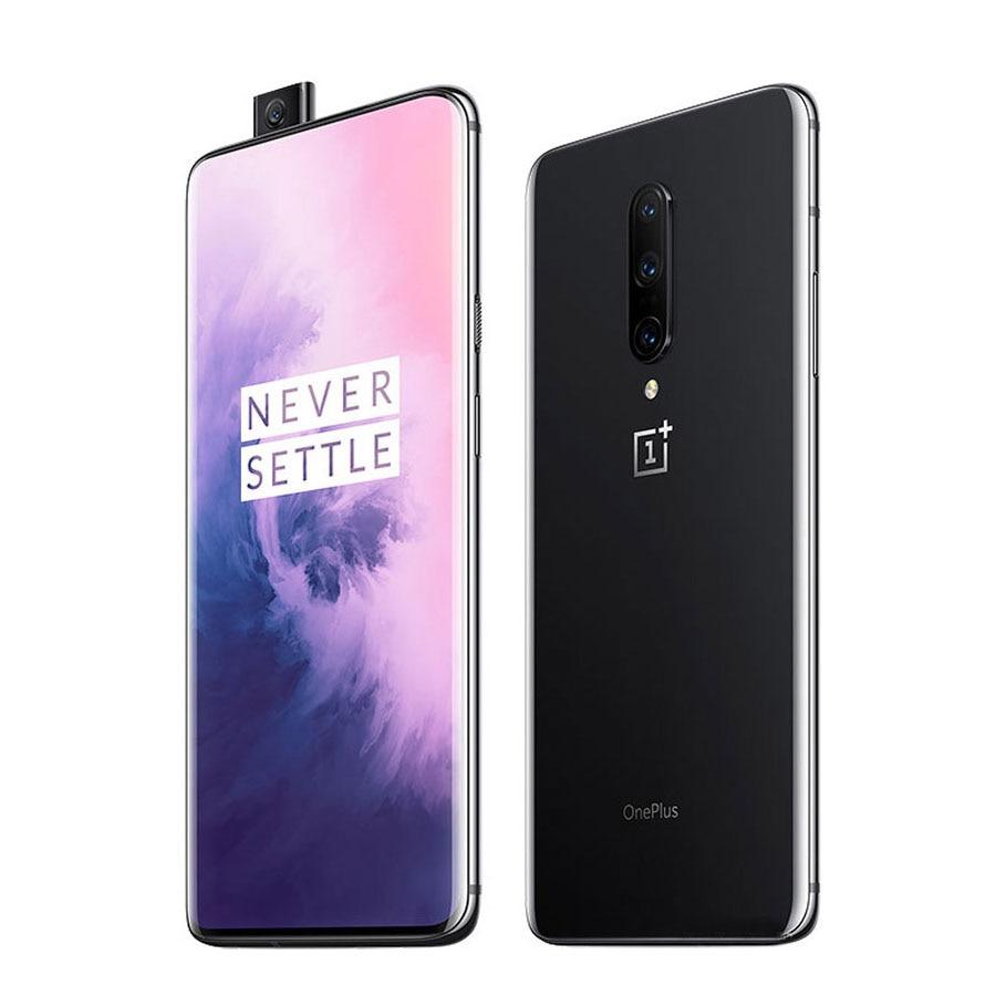"EU Version Oneplus 7 Pro GM1913 Mobile Phone 6.67"" 8GB/12GB RAM 256GB ROM Snapdragon 855 Octa Core 3120x1440p Smart Phone"