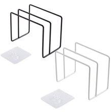 Schneiden Bord Stehen Küche Organizer Dual Racks Eisen Halter Schneidebrett Regal Wand Hängen Stehen Lagerung