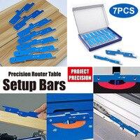 Router Tables Setup Bars Set Aluminum Alloy Woodworking Depth Test Distance Set up Bars TN99