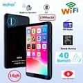 Mahdi M90 16 Гб WIFI Bluetooth MP4 плеер динамик MP3 сенсорный экран 4,0 дюймов музыка MP5 видео плеер Поддержка TF карта FM/запись