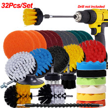 Electric Drill Brush Cleaner Scrubbing Brushes for Bathroom Surface Grout Tile Tub Shower Kitchen Auto Car Cleaning Tools