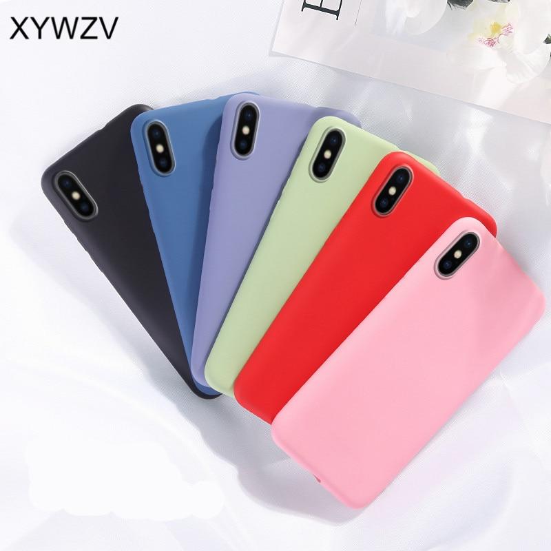 For Samsung Galaxy S10E Case Matte Soft TPU Silicone Phone Case For Samsung Galaxy S10E Candy Color Cover For Samsung S10E