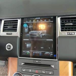 Image 2 - טסלה מסך לנד רובר ריינג רובר ספורט L320 2010 2011 2012 2013 רכב אנדרואיד מולטימדיה נגן 10.4 אינץ רכב רדיו GPS