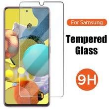 9H Gehard Glas Voor Samsung A50 A40 A30 A20e A10 A20 Screen Protector Voor Samsung Galaxy A51 A71 A70 a21S M51 M31 M21 A31 A11