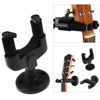 Guitarra gancho gancho suporte de montagem na parede para guitarra elétrica acústica clássica baixo ukulele banjo violino mandolin