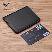 Williampolo Short Wallets For Men Genuine Leather Wallet Men
