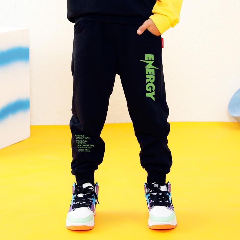 Kids Pants 3-12 years Boys Casual Pants Kids Clothing Cotton Boys Long Trousers Children Boys Clothing Sport Pants Spring 1