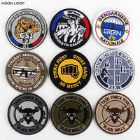 CSI GIGN GIPN Badges Embroidered Police Nationale Patches Hook Loop Armband Stick on Jacket Backpack Appliques