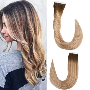 Toysww Remy Tape In Human Hair Extensions Double Drawn Adhesive Straight Hair Skin Weft 14- 24 Multi Colors k s wigs 80pcs pack remy human hair double drawn straight luxury skin weft tape on hair extensions