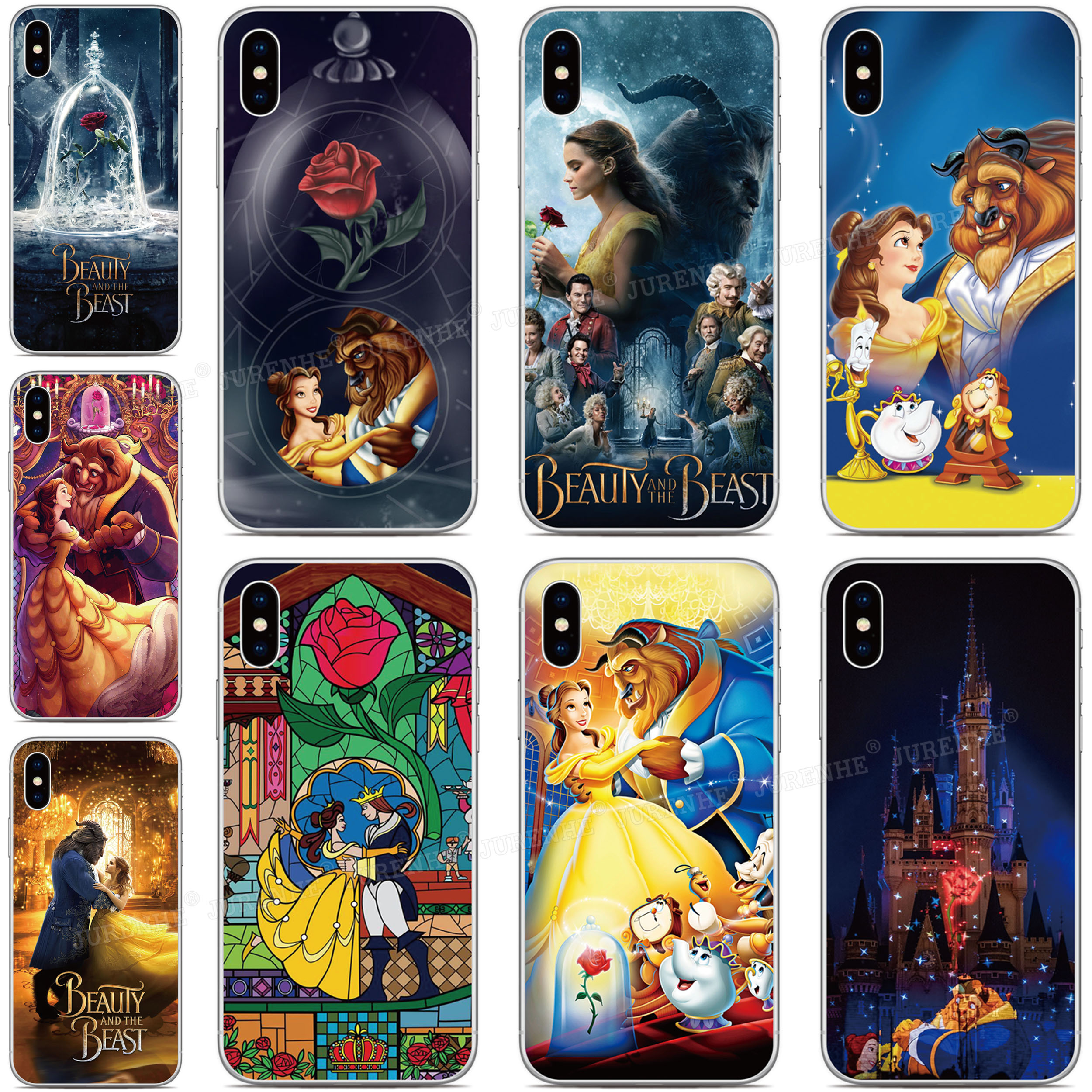 Beauty <font><b>and</b></font> The Beast Phone <font><b>Case</b></font> For <font><b>Sony</b></font> <font><b>Xperia</b></font> XZ5 5 XZ3 XZ2 XZ4 Compact ACE XA3 XA1 Plus XA2 Ultra L4 L3 L2 20 8 <font><b>10</b></font> 1 II <font><b>Cover</b></font> image