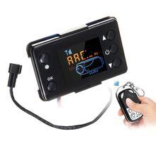 12 V/24 V ЖК-дисплей монитор переключатель+ пульт дистанционного управления Управление аксессуары для автомобиля трек Дизели нагреватель воздуха на дизельном топливе, стояночный отопитель