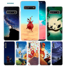 Hakuna Matata lion king Case voor Samsung Galaxy Note 10 5G 9 8 S10 S9 S8 Plus A50 A40 a70 A20 A10 s Note10 PC Telefoon Coque Cover(China)